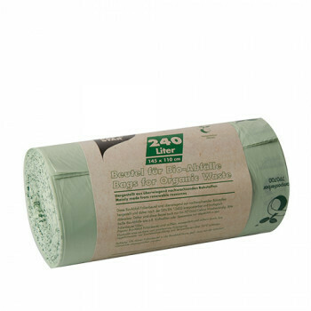Compost bags, bio-foil 240 liters 145 cm x 110 cm green, packed per 150 pieces