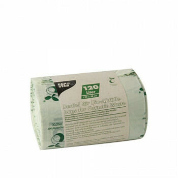 Compost bags, bio-foil 120 liters 123 cm x 88 cm green, packed per 150 pieces