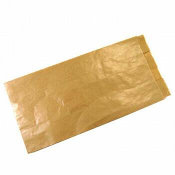 Broodzakken, Bruin Papier   13/3,5x27cm, verpakt per 1000 stuks