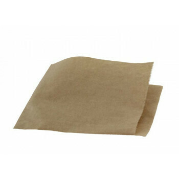 Hamburgerzakken, Kraftpapier   15x15cm, verpakt per 500 stuks
