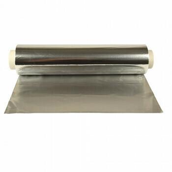 Aluminiumfolie 150 m x 30 cm los, verpakt per 4 rollen