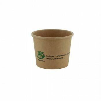 Duurzame sauscups / sausbakjes, Karton (100%FAIR)  60ml, verpakt per 2000 stuks