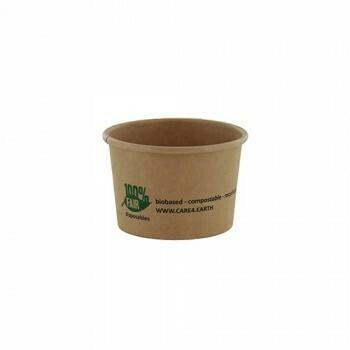 Duurzame sauscups / sausbakjes, Karton (100%FAIR)  45ml, verpakt per 2000 stuks