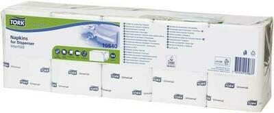 TORK 10840 Tork Universal dispenserservetten, verpakt per 9000 stuks