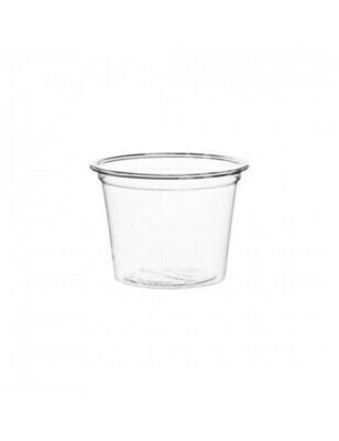 PLA dressing cup 15ml/Ø45mm, verpakt per 5000 stuks