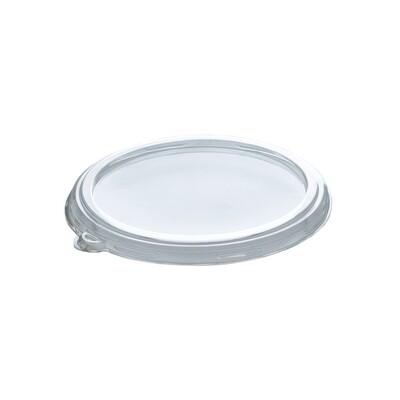 Couvercle en PLA pour récipients de 240,360 480 et 50 ml, emballé par XNUMX pièces