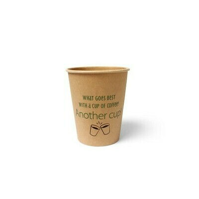 Koffiebeker (Silly Times) karton | 237ml/8oz, verpakt per 1000 stuks.