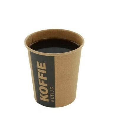 Koffiebekers (Altijd Koffie), Karton | 177ml/6oz- Ø72mm, verpakt per 1000 stuks
