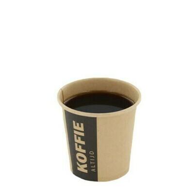 Koffiebekers (Altijd Koffie), Karton | 118ml/4oz- Ø63mm, verpakt per 1000 stuks