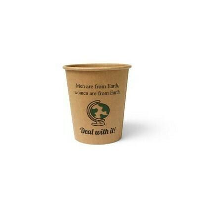 Koffiebeker (Silly Times) karton | 177ml/6oz, verpakt per 1000 stuks.