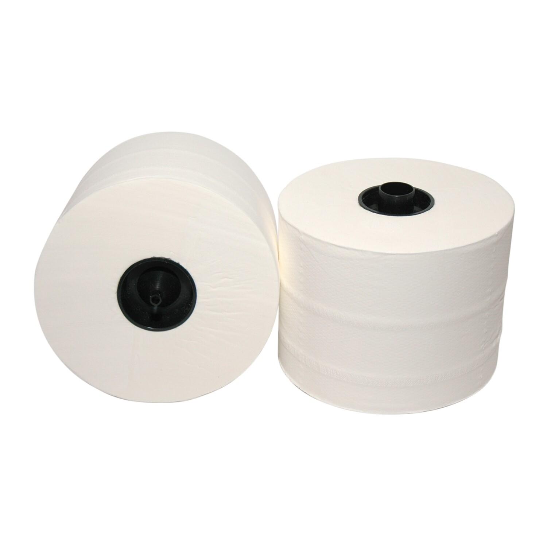 258065 Euro recycled tissue met dop, doos met 36 rollen