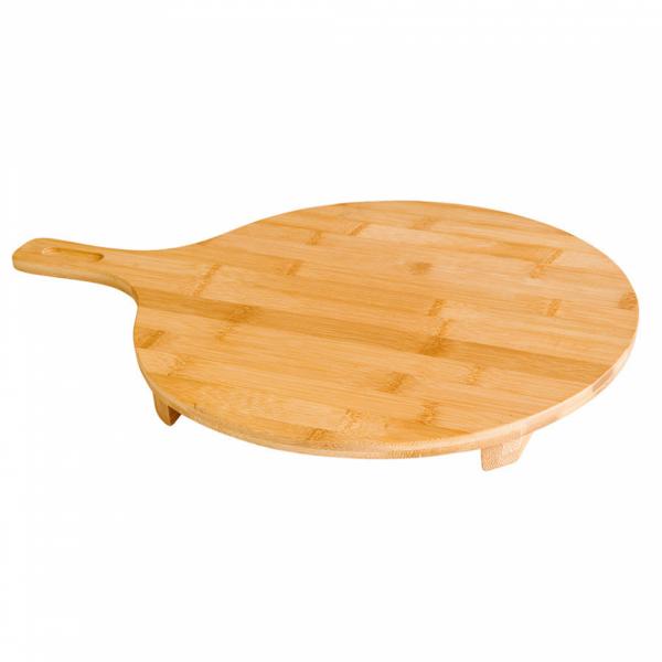"Bamboe presentatieplank ""Pizza"" Ø 35x2,5 cm, verpakt per stuk"
