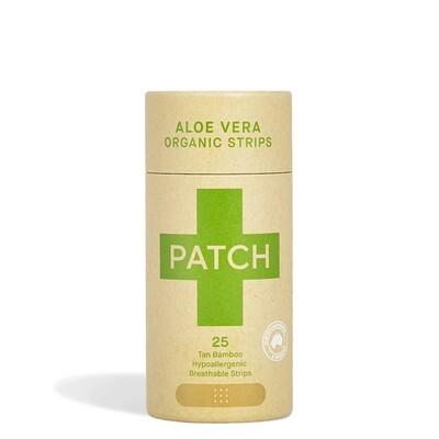 Patch pleisters Aloe Vera Bamboe, hypoallergeen, 25 stuks