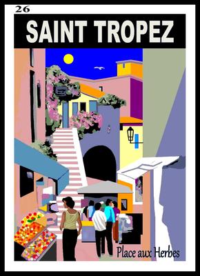 SAINT TROPEZ - Place aux herbes