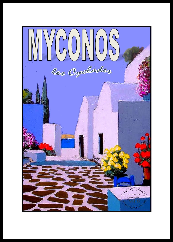 MYCONOS  les cyclades