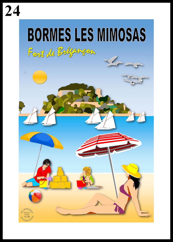 FORT DE BRÉGANÇON Plage de Cabasson /Bormes les Mimosas