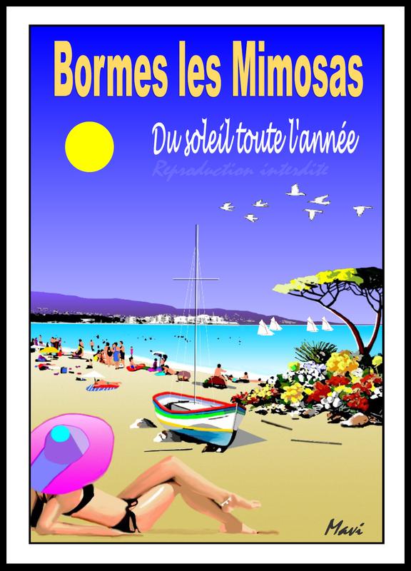 BORMES LES MIMOSAS- Du soleil tout l'été