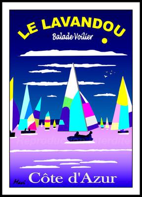 Balade voilier -Le lavandou