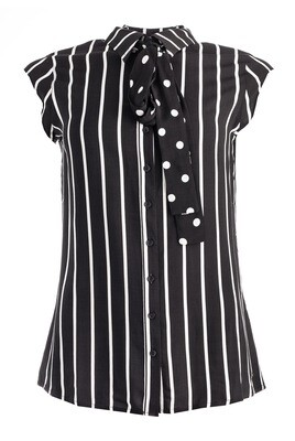 Kish Stripe Black