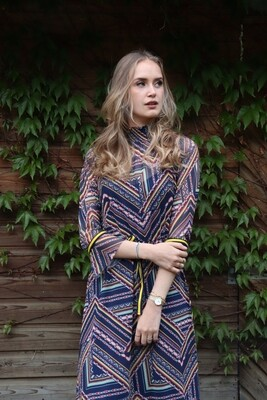 Carley Geometric Dress