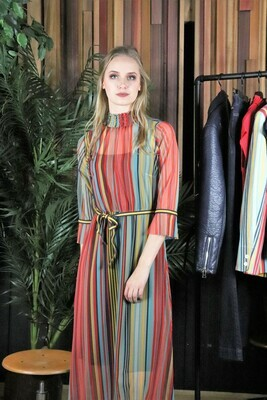 Carley Stripe Dress