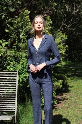 Nina Denim Traveler  straight pants our favorite
