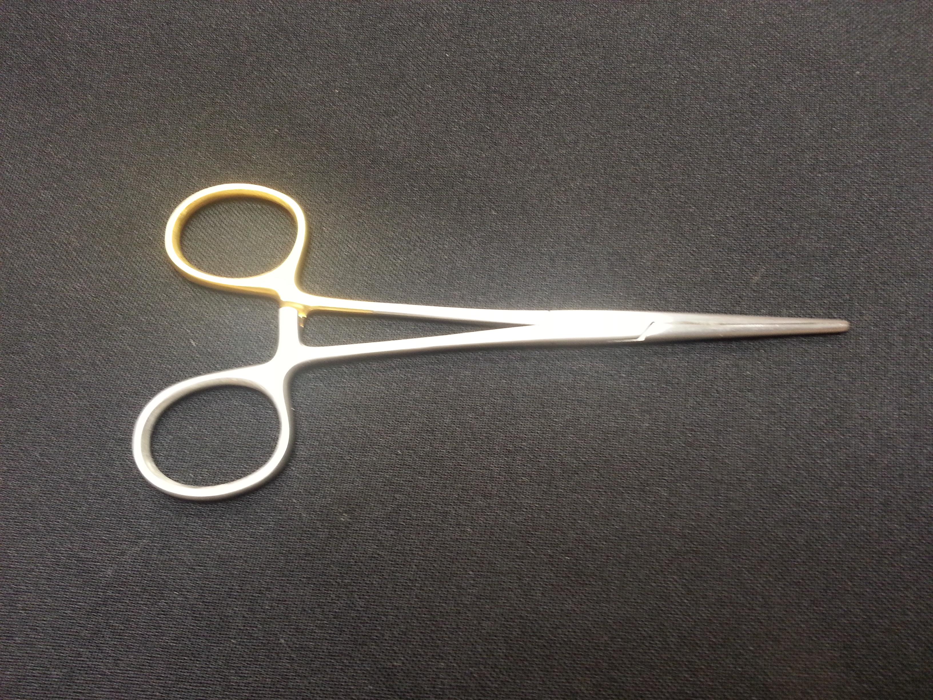 "CARMALT Forceps Micro Tip 5½"" Straight GN274M"