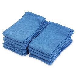 """Blue Non Sterile Dozen Cotton Towels Approx 16x30"""" 80-2500DZ"""
