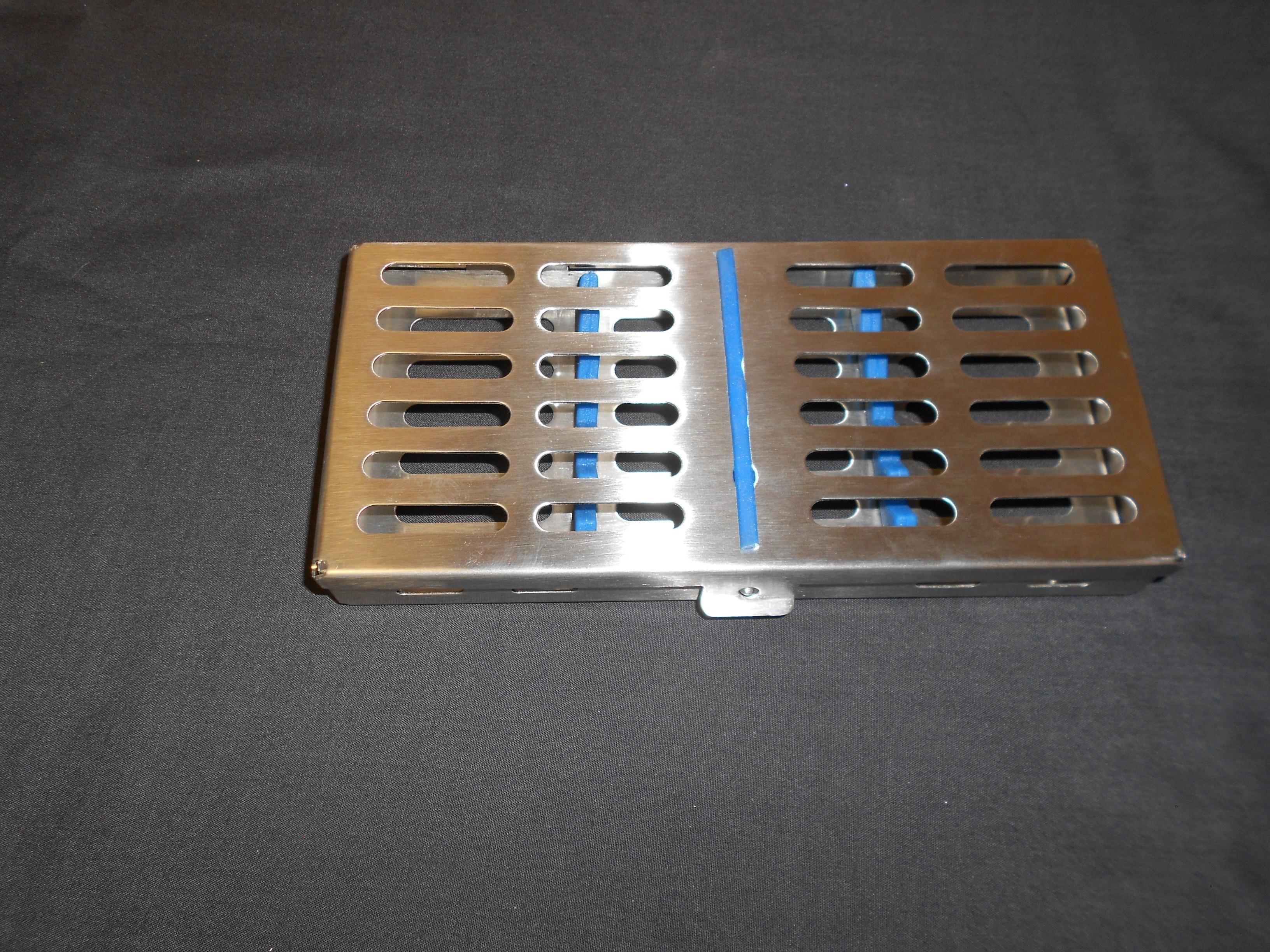 Sterile Metal Cassette Holds 7 Instruments MC007