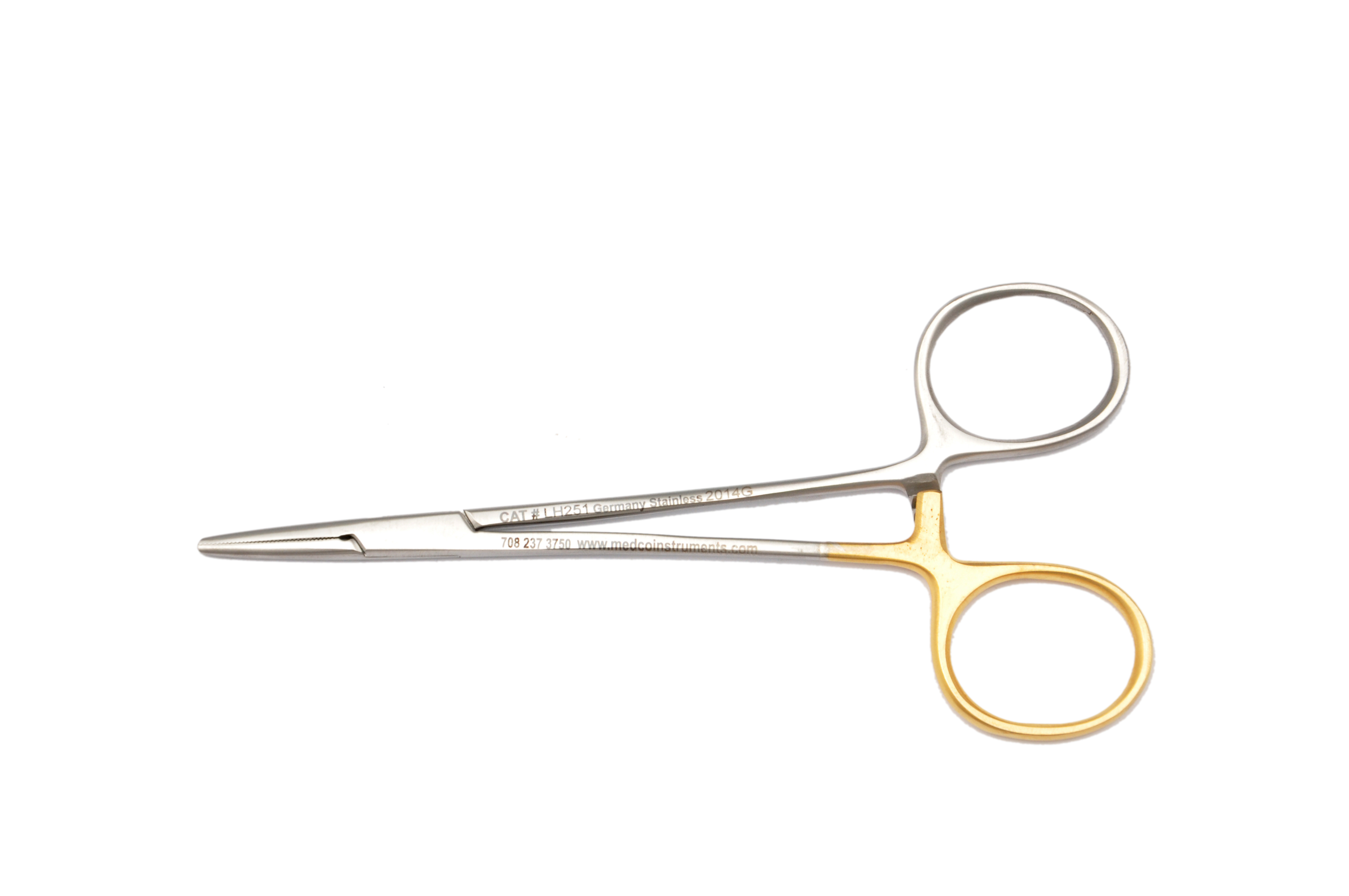 """LEFT Handed Mosquito Forceps 5"""" Straight LH251"""