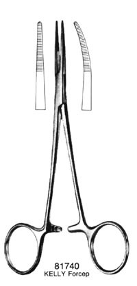 "PROVIDENCE Forceps Straight 5.5"" 81772"