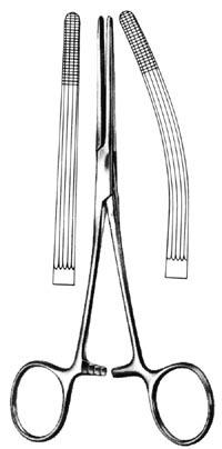 "ROCHESTER-CARMALT Forceps Curved 8"" 81850"