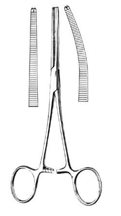 "ROCHESTER-OCHSNER Forceps Curved 8"" 81985"