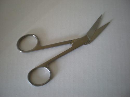 """ANGULAR Scissors 5.5"""" sharp/sharp 81456"""