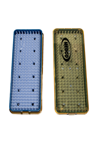 Sterile Tray Small Cassette Small w/ Rubber Mat MLSTS