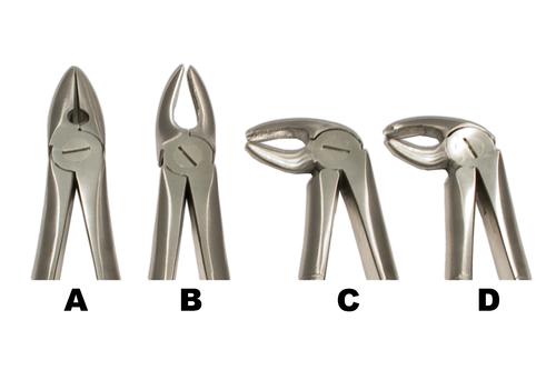 Mead Style Forceps set of 4 MLMD-1234