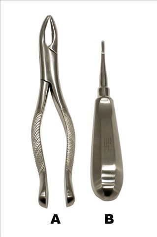 Wolf Tooth Forceps & Elevator Set WTFE150301
