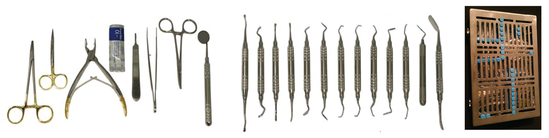 Soft Tissue Perio Surgery Set of 19 With Free Case ML194
