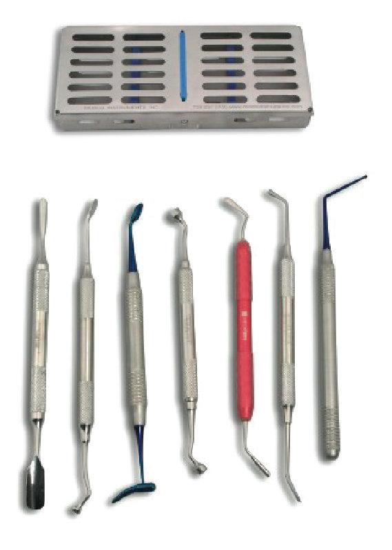 Bone Grafting Kit Set of 7 with Case MLBTIM7