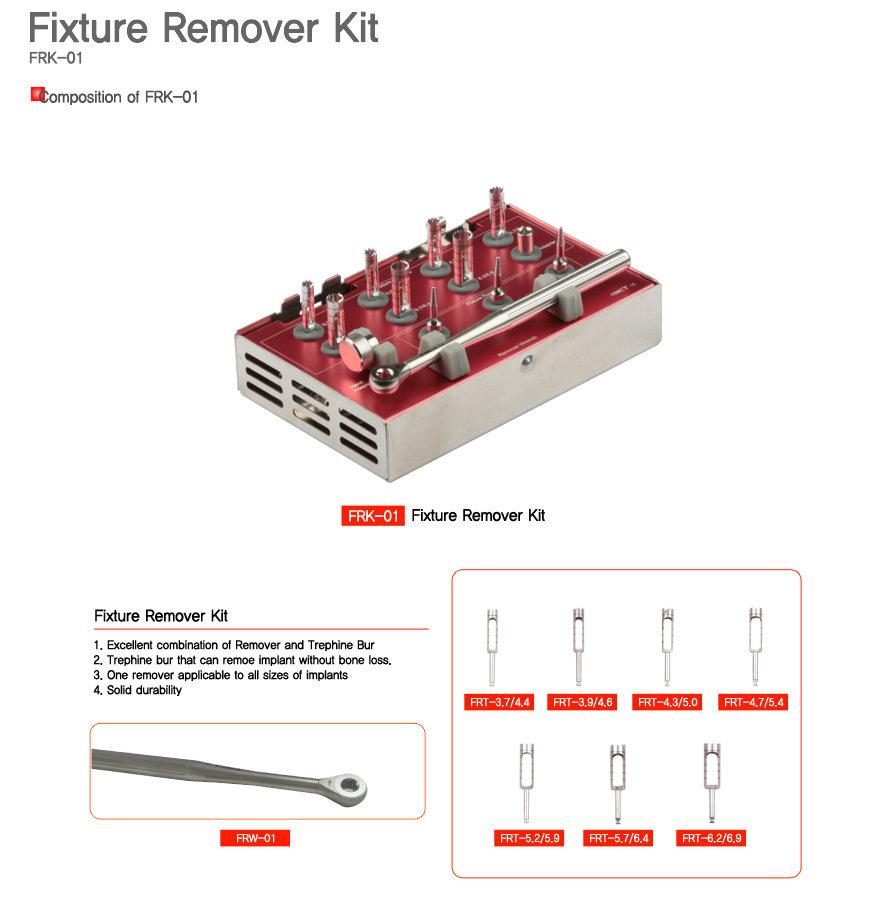 Implant Removal (Complete) Kit MLFRK02