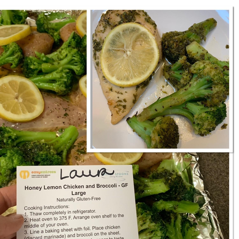 Honey Lemon Chicken w/Broccoli - GF