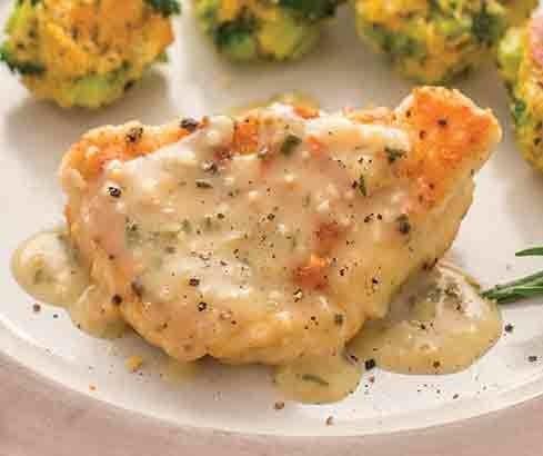 Rustic Chicken w/ Garlic Gravy