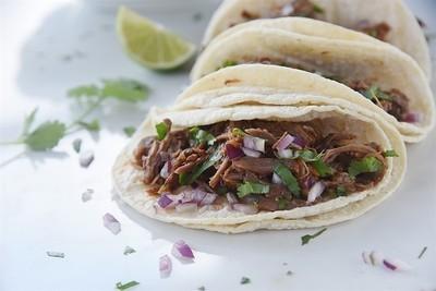 Barbacoa Beef Street Tacos - GF