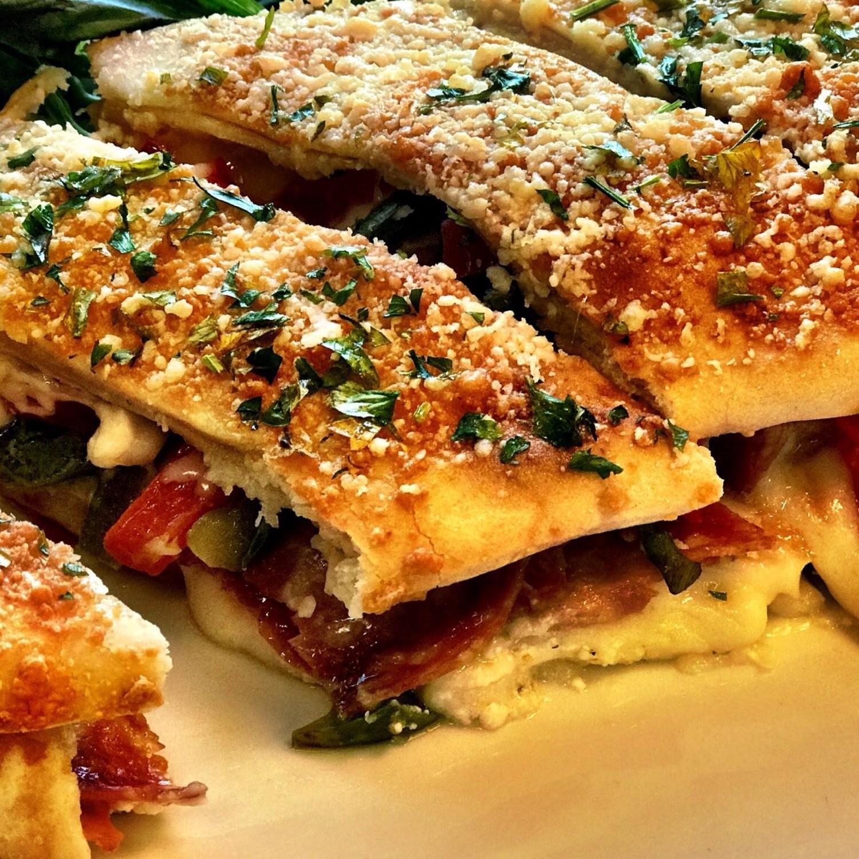 Italian Meatlover's Stromboli