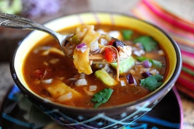 Chicken Tortilla Soup - GF