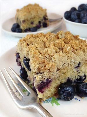 Blueberry Coffee Cake (Serves 4-6)