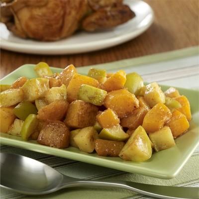 Roasted Butternut Squash w/ Cinnamon Apples
