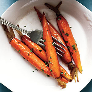 Oven-Roasted Honey Spice-Rubbed Carrots - GF