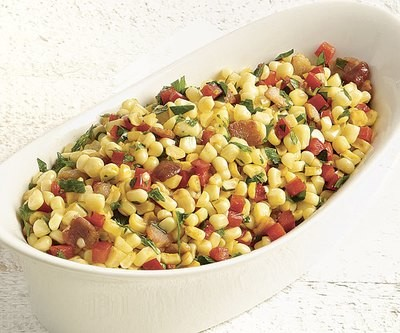 Corn, Bacon & Red Bell Peppers - GF