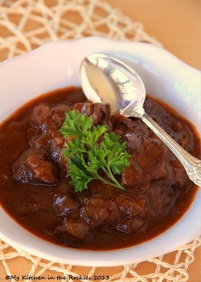 Traditional German Beef Goulash